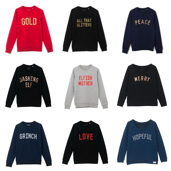 AWESOME Organic Slogan Sweatshirts