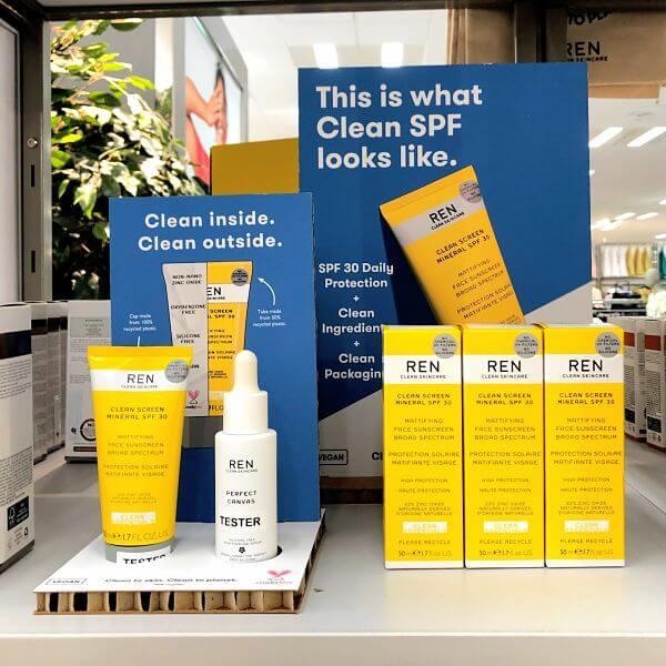 ren clean screen mineral SPF