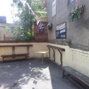 pub courtyard
