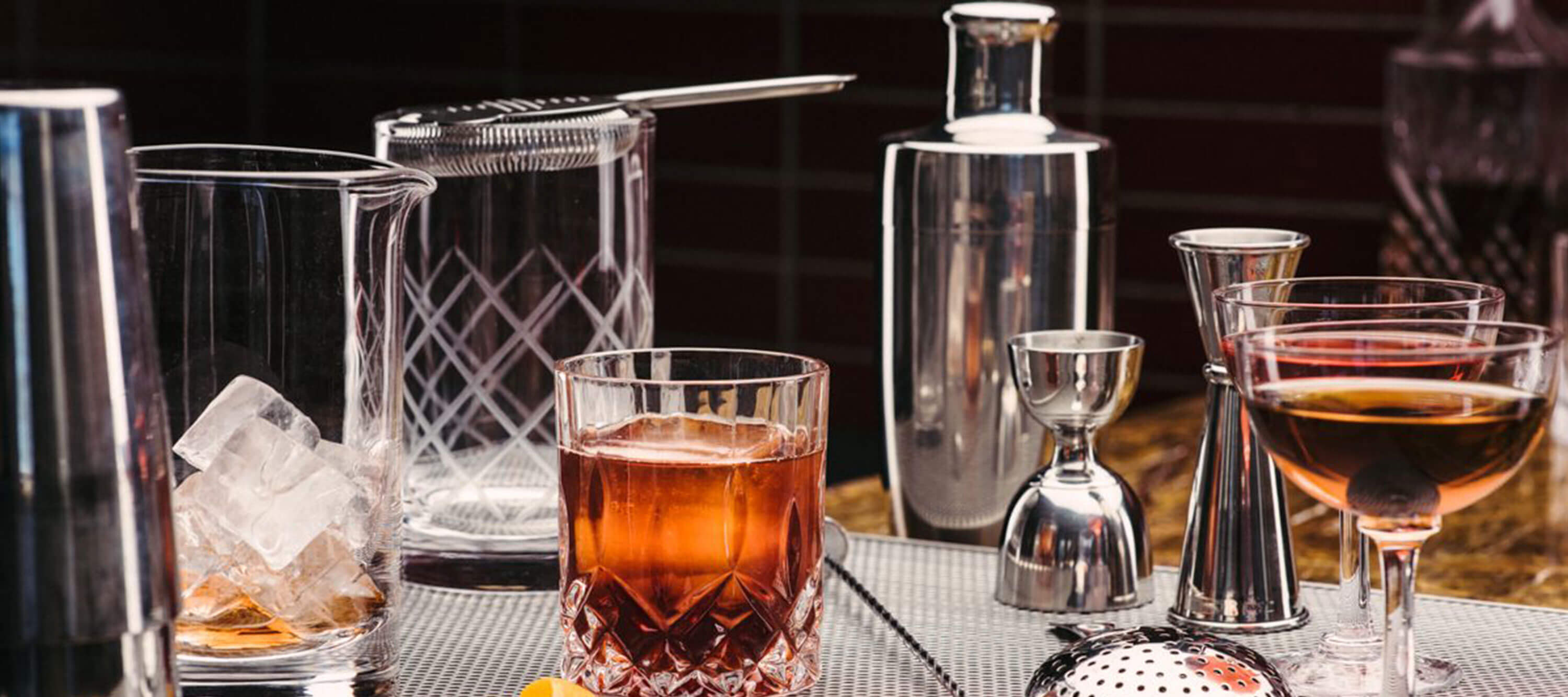 The ultimate boutique bar and glassware distributor and retailer home professional bartender Canada USA Fifth & Vermouth