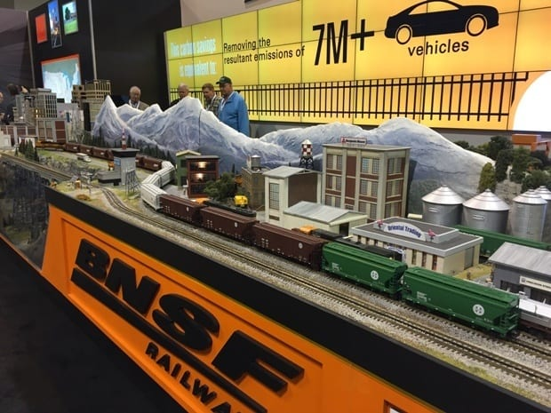 BNSF Booth