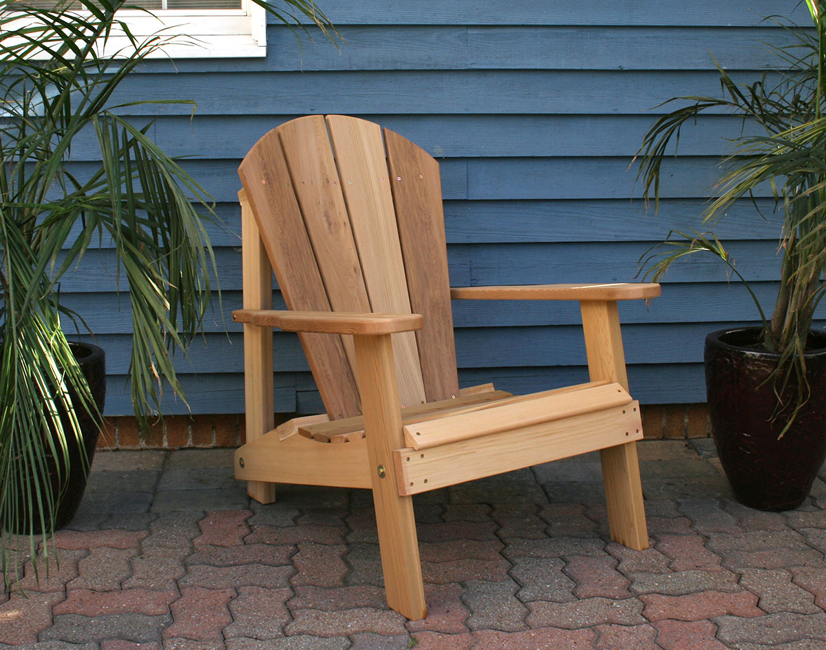 Red Adirondack Chairs Red Cedar Southern Wide Slat Adirondack Chair