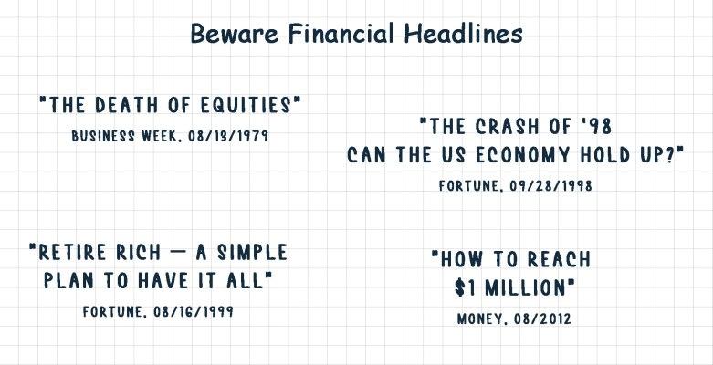 Beware Financial Headlines