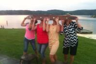 Co-worker fun at the lake!