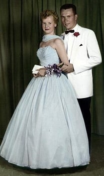1950s Evening Gowns  see what was popular