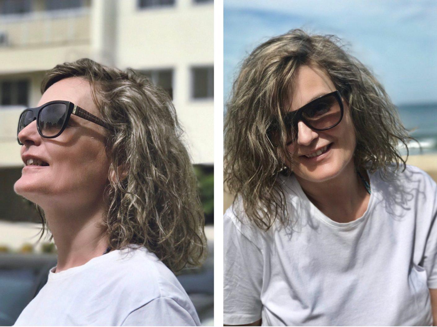 naturligt gråt hår