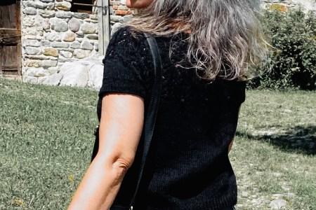 strikket sommertop