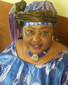 National Organizing Secretary - Mrs. Isatu Jabbie Kabbah