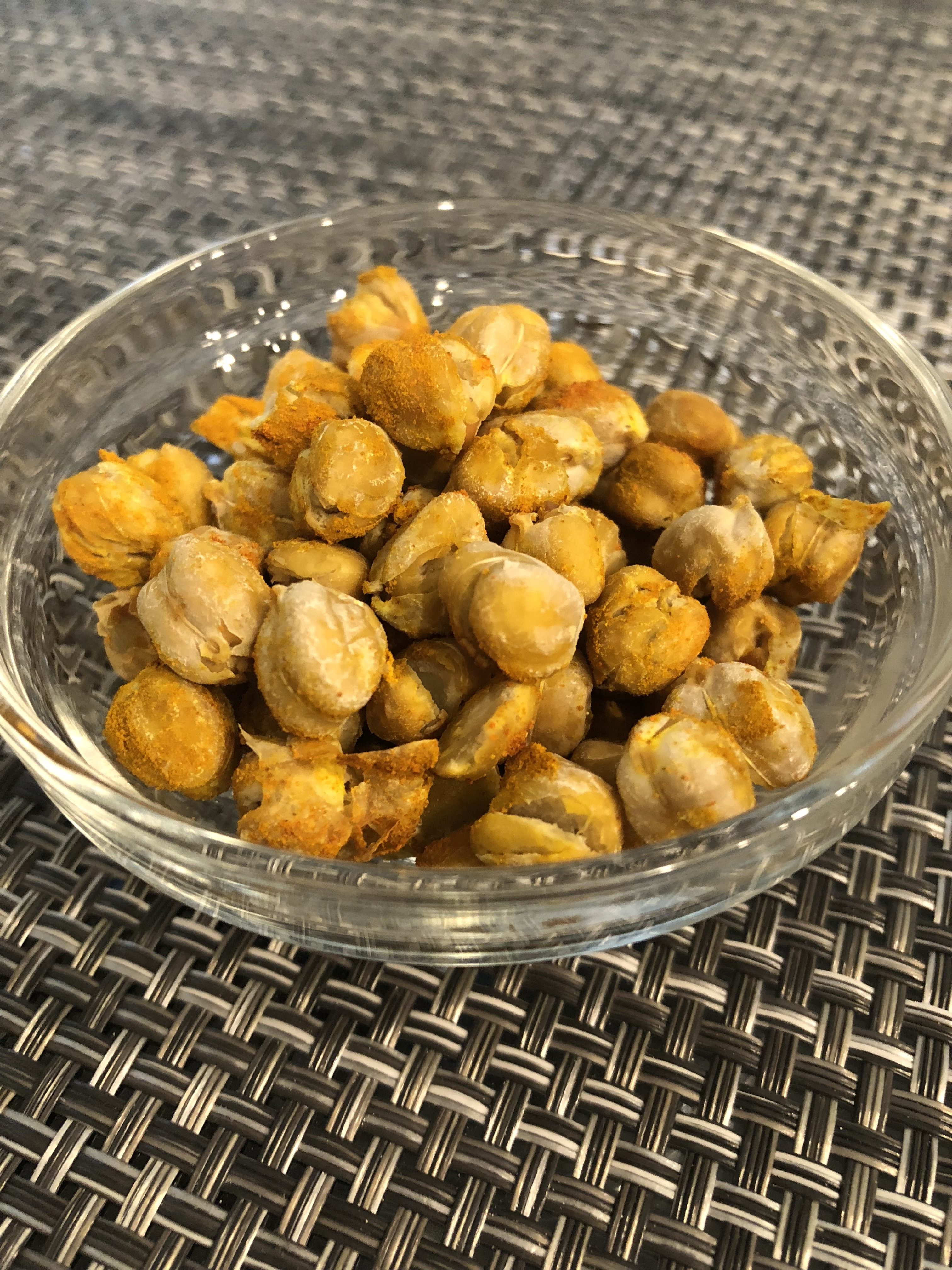 Healthy Crunchy Chickpeas