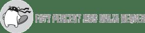 Fifty Percent less Ninja Beaver logo
