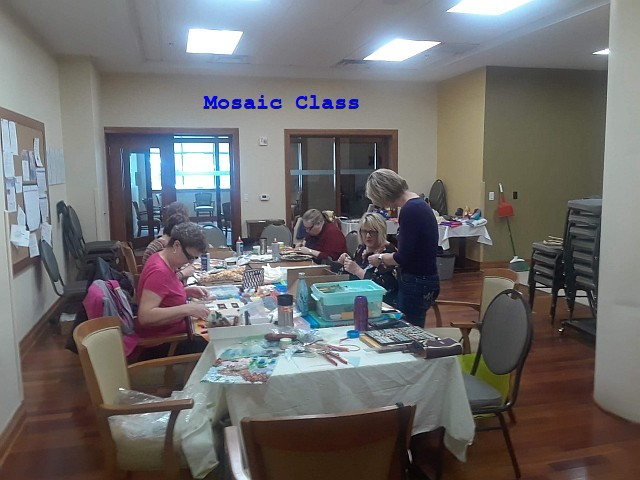 Photo of Mosaic Class
