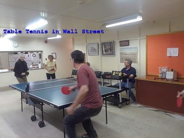Photo of TT in Wall Street