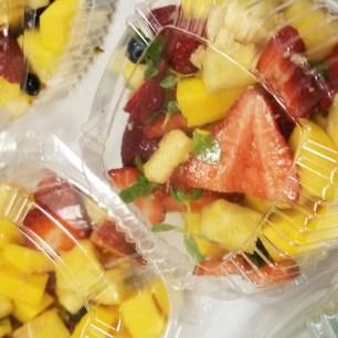 Ginger Laced Fruit Salad