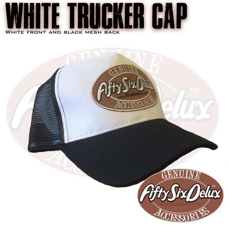 White Trucker Cap