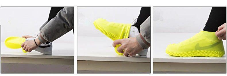 FIFY STORE Couvre Chaussures Pluie. Imperméables, Élastiques et Anti-dérapants