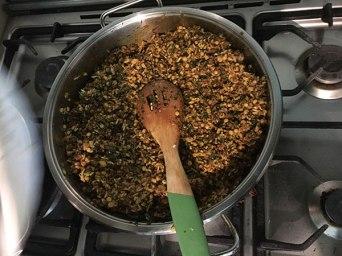 Persian grape leave dolmeh recipe tutorial demo Tehran Iran