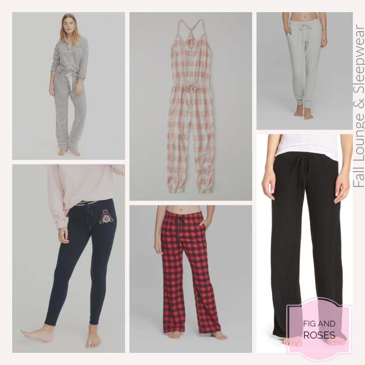 Fall Lounge & Sleepwear