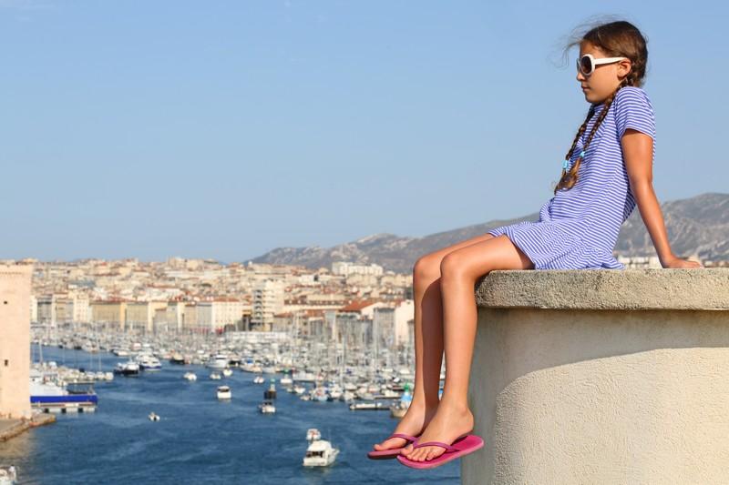 Marseille Le Vieux Port En Tte