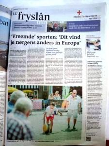 articolo testata olandese