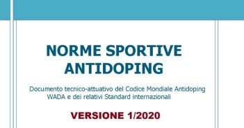 Antidoping norme 2020