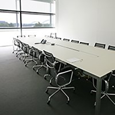 chair cover rentals quad cities aeron white figge art museum rental nobis boardroom