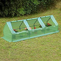 a photo of a portable greenhouse