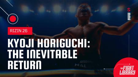 Kyoji Horiguchi vs. Kai Asakura 2