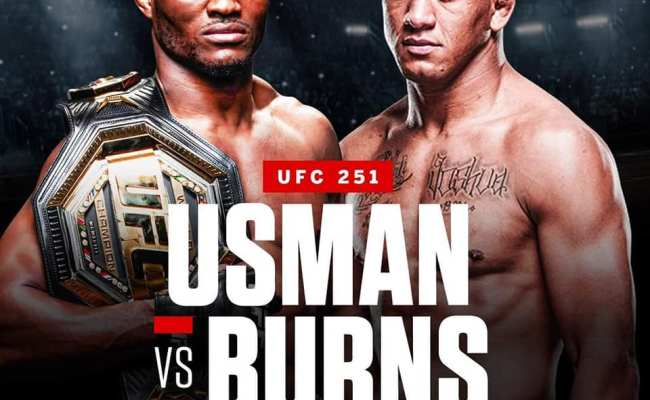 Current Ufc 251 Lineup Fight Madness