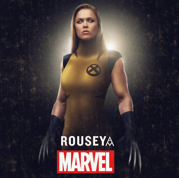 rousey-wolverine