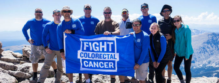 Fight Colorectal Cancer Climbing Mountains