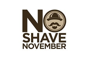 No Shave November Logo