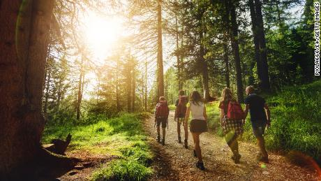 Spending time in nature is beneficial for your physical and mental health, studies show.