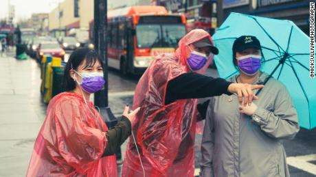 Teresa Ting's volunteers help protect the streets of the Flushing  neighborhood in Queens.