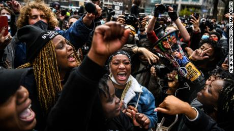 Sighs of relief at the Chauvin guilty verdict, but activists say the work on racial justice is far from over