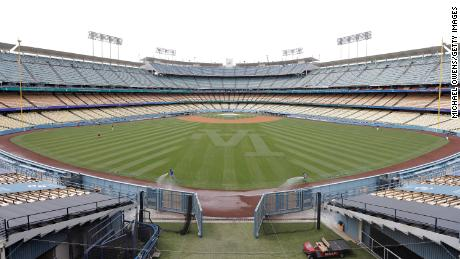 The Los Angeles Dodgers, other California teams debut fully vaccinated seating section for home games