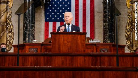 CNN Poll: 7 in 10 who watched say Biden's speech left them feeling optimistic