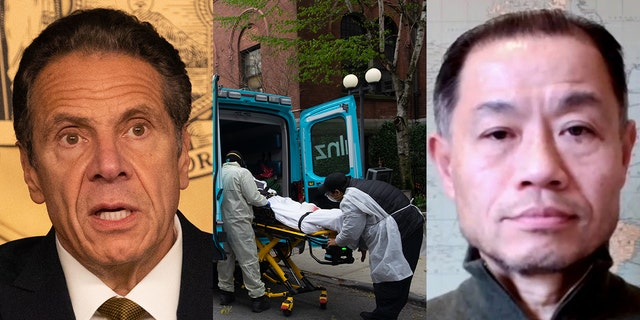 New York state Sen. John Liu, right, has been an outspoken critic of Gov. Andrew Cuomo and his nursing home policies.