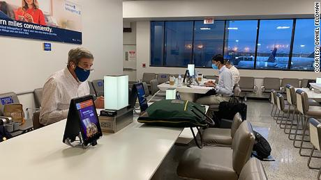 Kerry works in Newark Liberty International Airport.