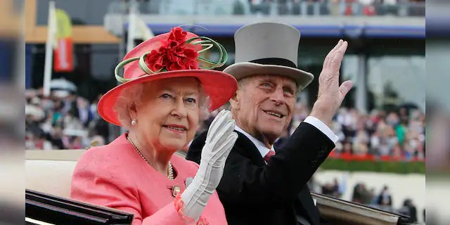 Queen Elizabeth II and Prince Philip tied the knot in 1947. They remained together until his death.
