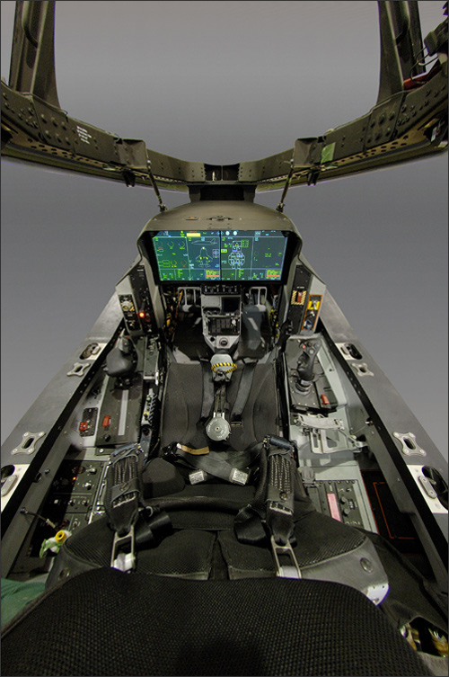 F-35 Lightning II Fifth-Generation Fighter Cockpit