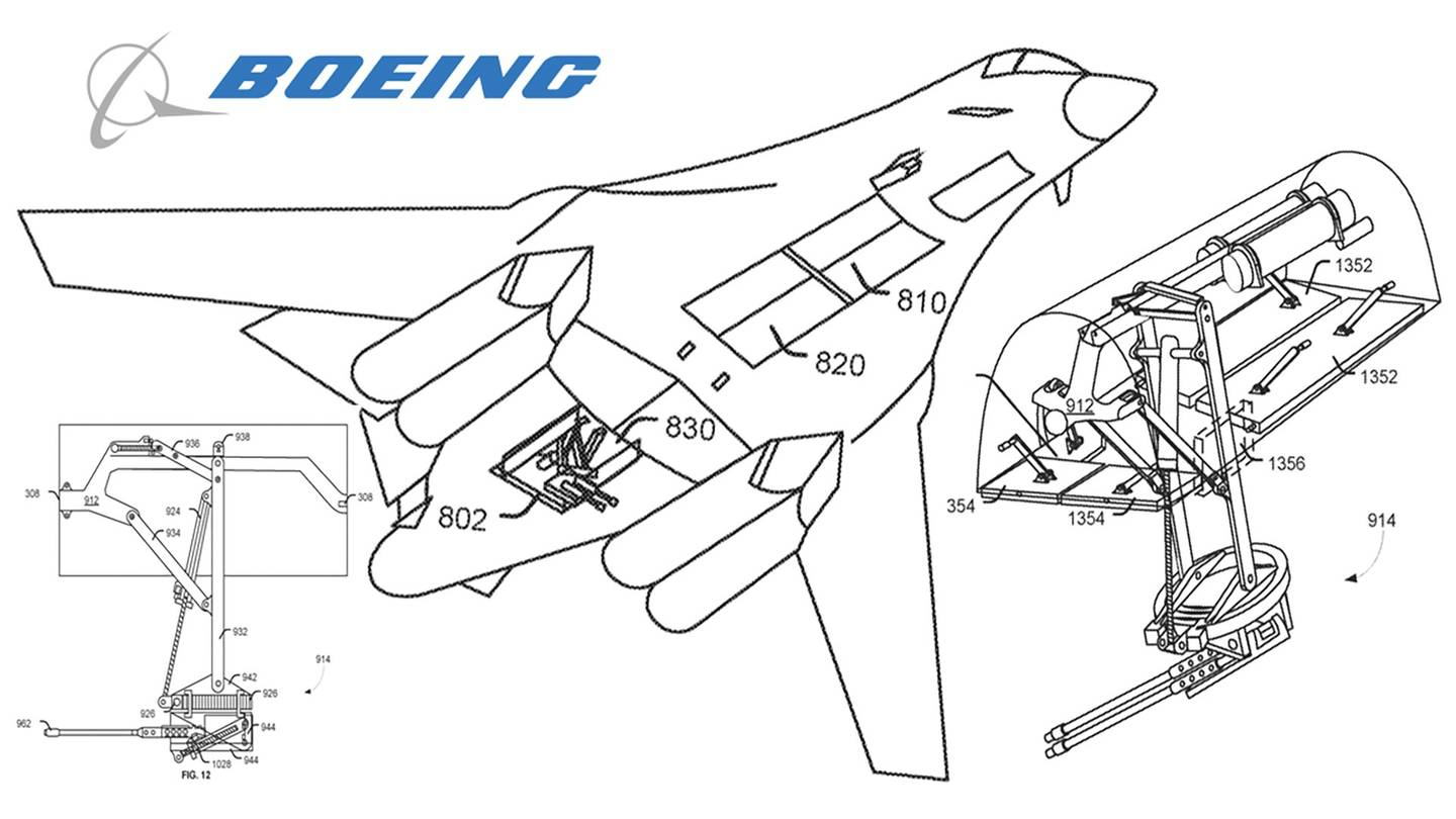 Boeing S Will Turn The B 1b Into A Gunship Bristling With
