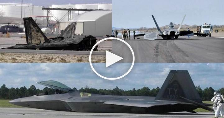 Videos of F-22 Raptor Crash | List of All F-22 Crash So far - Fighter Jets World