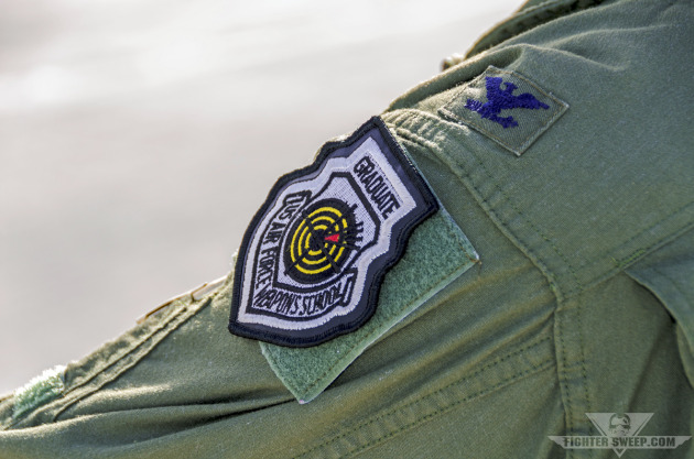 The graduate patch of the United States Air Force Weapons School.