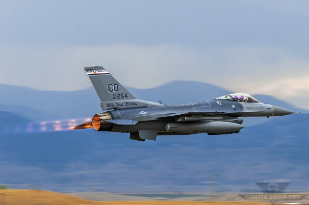 The 140 WG of the Colorado Air National Guard is a unit with an Aerospace Control Alert mission.