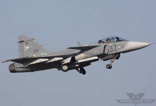 Hungarian Gripen Crashes In Czech Republic