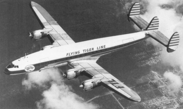 Flying Tiger Line Lockheed Constellation