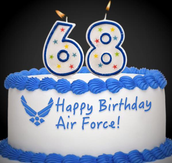 USAF Birthday Cake