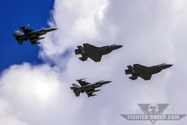The first two combat-coded F-35A Lightning IIs arrive at Hill Air Force Base in Layton, UT.