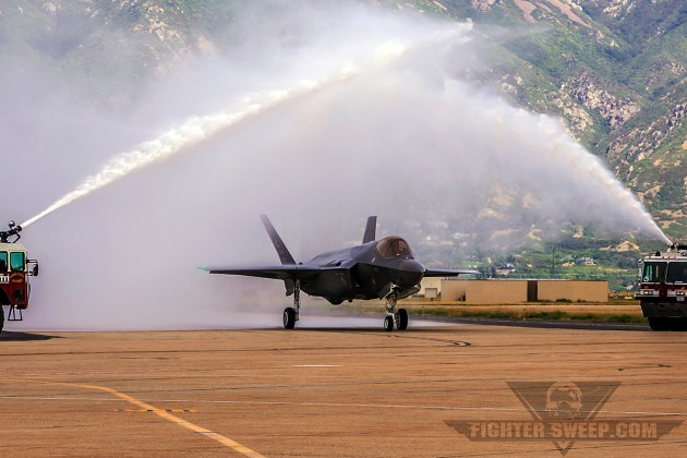 Combat-coded F-35As Arrive At Hill AFB