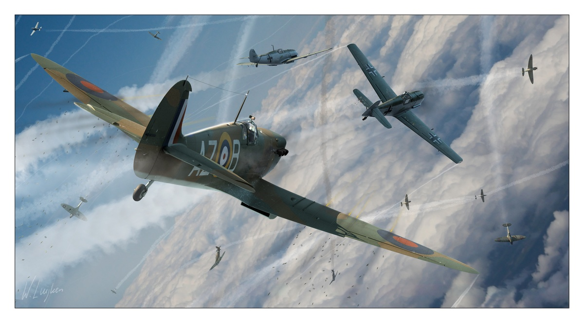 The US Eagle Squadrons Of WWII | Fighter Sweep